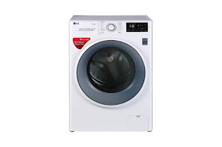 LG FHT1065SNW 6.5 Kg Front Load Washing Machine (New Model)