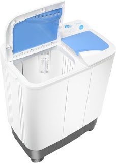 Midea MWMSA065A02 6.5 kg semi automatic Washing Machine